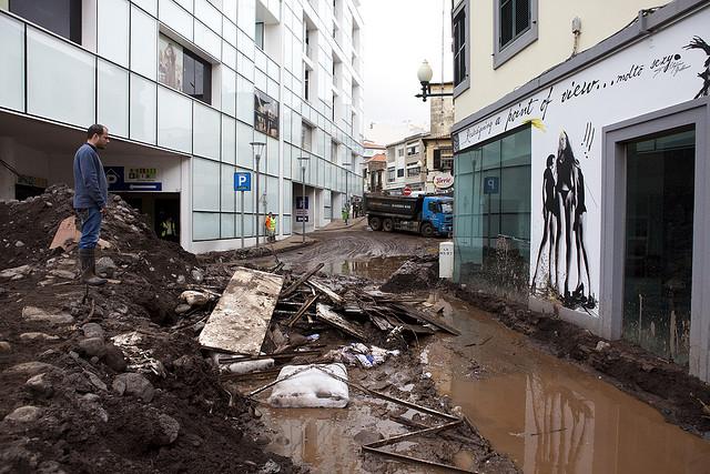 Daños por inundaciones en Madeira 2010. RP