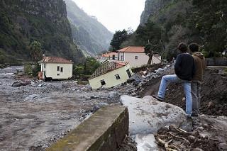 Zona Sierra de Água. Inundaciones 2010. Foto: Rui Pestana