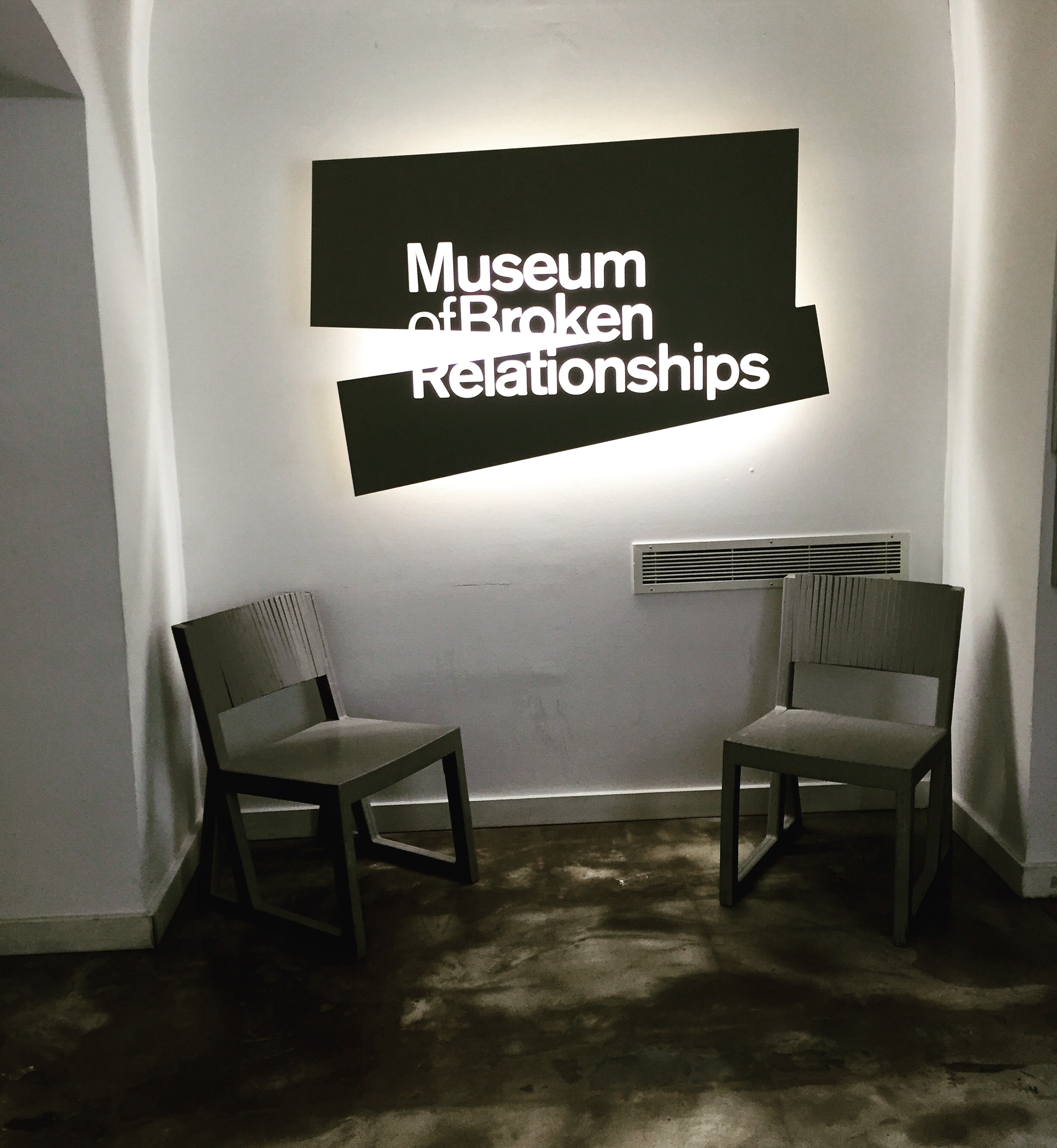 Entrada al Museum of Broken Relationships. Zagreb