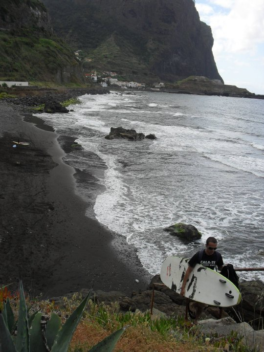 Playa ideal para practicar surf
